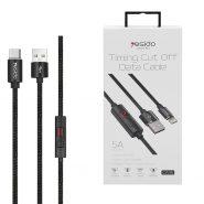 خرید کابل USB به Type-Cیسیدو مدل Ca46 طول 1.2متر ۲٫۴ آمپر